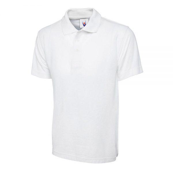 Ryhall Academy White Polo UC103