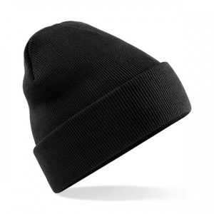 New College Stamford FA black beanie